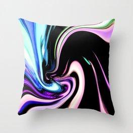 """""""Pastel Nightlife"""" Throw Pillow"""