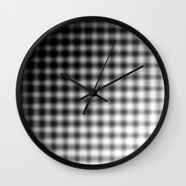 The Dash Between Our Absences Wall Clock