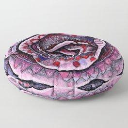 Rosa Venenum Floor Pillow