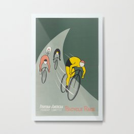 Vintage poster - Bicycle Race Metal Print