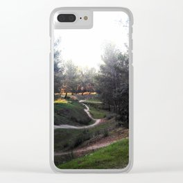 Walk with me.. Clear iPhone Case