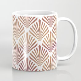 Rose-gold geometric art-deco pattern Coffee Mug