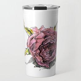 dried rose Travel Mug