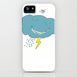 Ivan the angry cloud iPhone Case