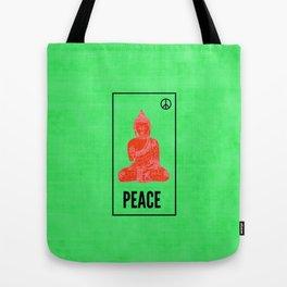 Neon Siddhartha Tote Bag
