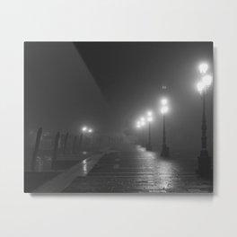 Venice Fog Metal Print