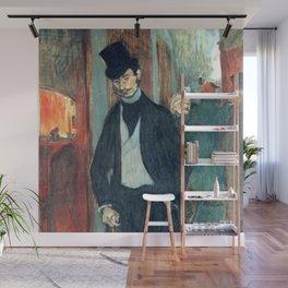 """Henri de Toulouse-Lautrec """"Doctor Gabriel Tapie"""" Wall Mural"""