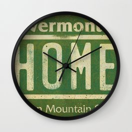 Vermont Home Wall Clock