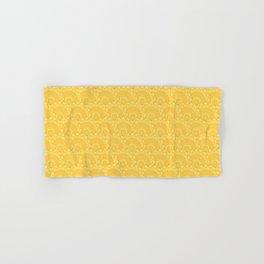 Yellow Medallions Hand & Bath Towel