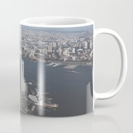NYC Downtown Aerial Coffee Mug