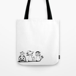 Hallow-Kitties Tote Bag