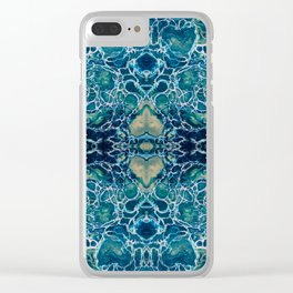 Fragmented 15 Clear iPhone Case