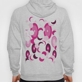 pink purple planets and moons Hoody