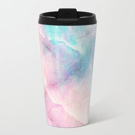 Iridescent marble Travel Mug