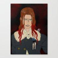 dmmd Canvas Prints featuring Mink DMMD by teshikumei