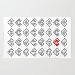 Pixel Love Rug