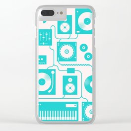 Electronica Clear iPhone Case