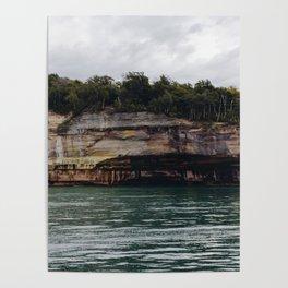 Pictured Rocks I Poster