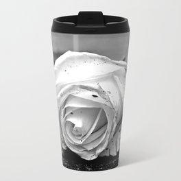 One last rose Metal Travel Mug