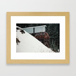Silverton Mine Framed Art Print