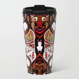 Symmetrical Cat (12827) Travel Mug
