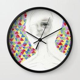 Facing Trigonometry Wall Clock