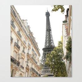 Eiffel tower architecture Canvas Print