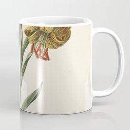 M. de Gijselaar - Branch with three yellow lilies (1834) Coffee Mug