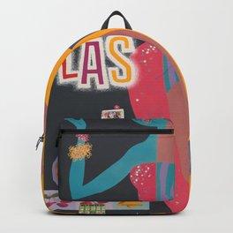 Vintage Las Vegas Poster Backpack