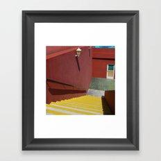 Cuban hotel Framed Art Print