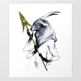 A Forest's Guardian Art Print
