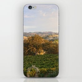 Paso Robles Hills iPhone Skin