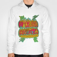 hakuna Hoodies featuring Hakuna Color by Diego Tirigall