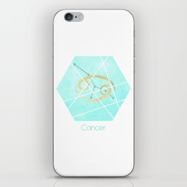 Cancer - Zodiac sign iPhone Skin