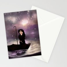 Floating through a coloured perfect world. Stationery Cards