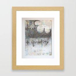 Reading 1. b) Framed Art Print