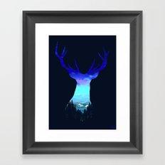 Deer Country Framed Art Print