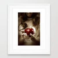 fairy tale Framed Art Prints featuring Fairy Tale by Judy Hung
