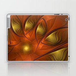 Fantasy in Copper and Gold Laptop & iPad Skin