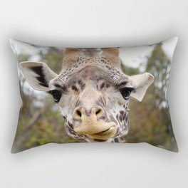 Masai Giraffee Rectangular Pillow