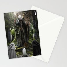 V. The Hierophant Tarot Card Illustration (Color) Stationery Cards