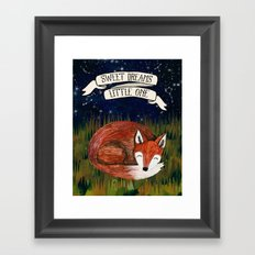 Sweet Dreams, Little One Framed Art Print
