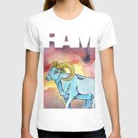 ram T-shirts featuring RAM by David Napier