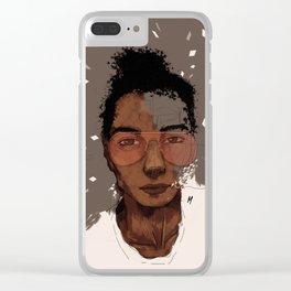 Tre Baen Clear iPhone Case