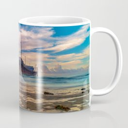 Northside Newport Pier Coffee Mug