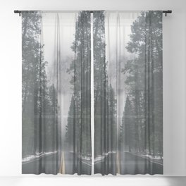 Forest Way Sheer Curtain