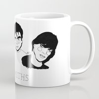 the smiths Mugs featuring The Smiths by ☿ cactei ☿