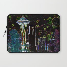 Sychedelic Seattle Laptop Sleeve