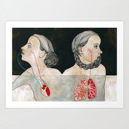 ikizler (twins) Art Print