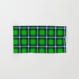 Scottish Tartan Blue and Green Hand & Bath Towel